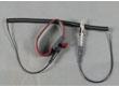 玖红黑纱防静电手腕带(线粗2.5,长2.4米) VIP-W21